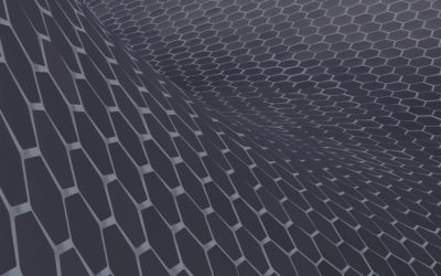 Effective EMI shielding behavior of thin graphene/PMMA nanolaminates