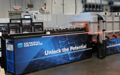 General Graphene Corporation Completes Validation of its GEN 3.0 Roll-to-Roll Production Line